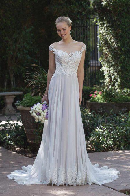 Romantisk brudklänning R1823
