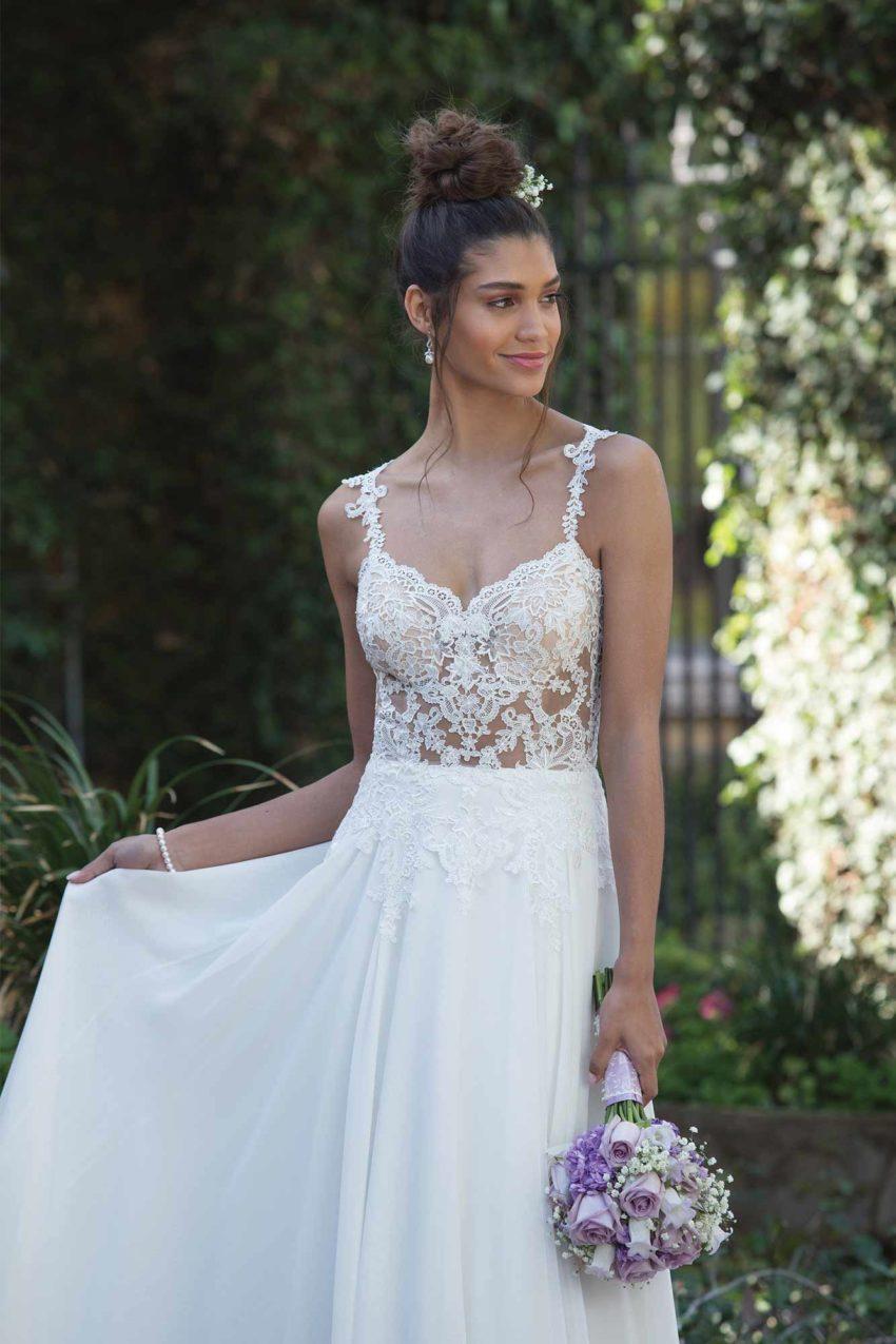 Romantisk brudklänning R1824