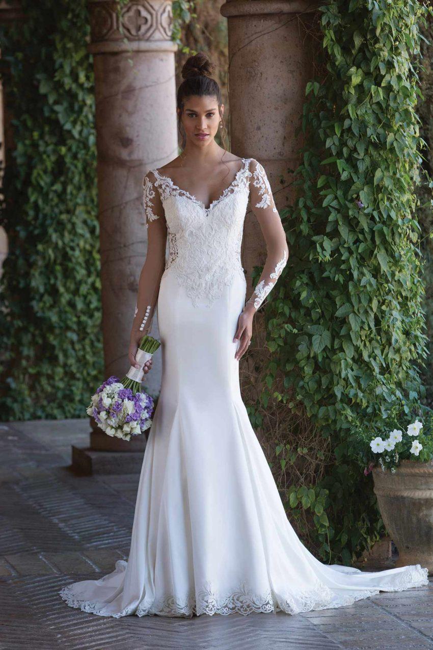 Romantisk brudklänning R1826