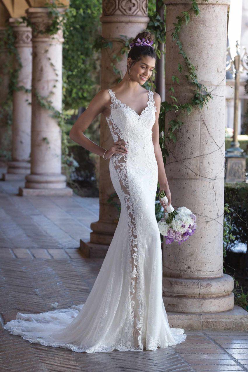 Romantisk brudklänning R1827