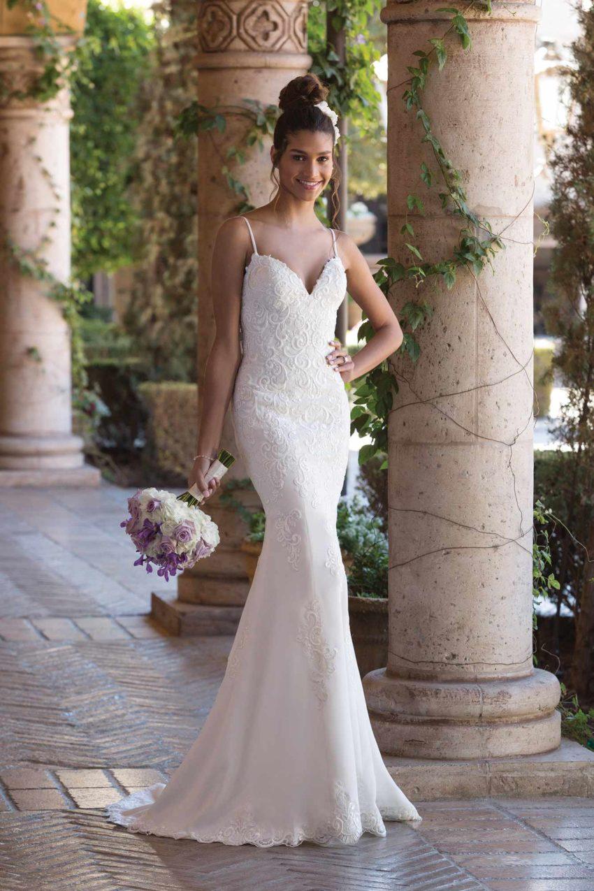 Romantisk brudklänning R1828