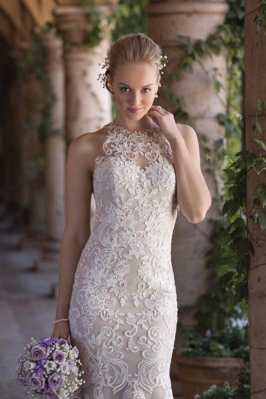 Romantisk brudklänning R1829