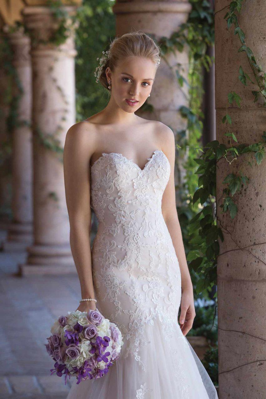 Romantisk brudklänning R1830