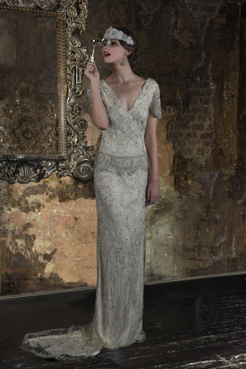 20-tal Vintage brudklänning 1804