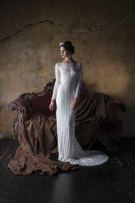 20-tal Vintage brudklänning 1807