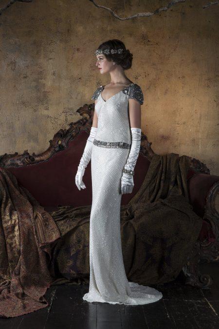 20-tal Vintage brudklänning 1808