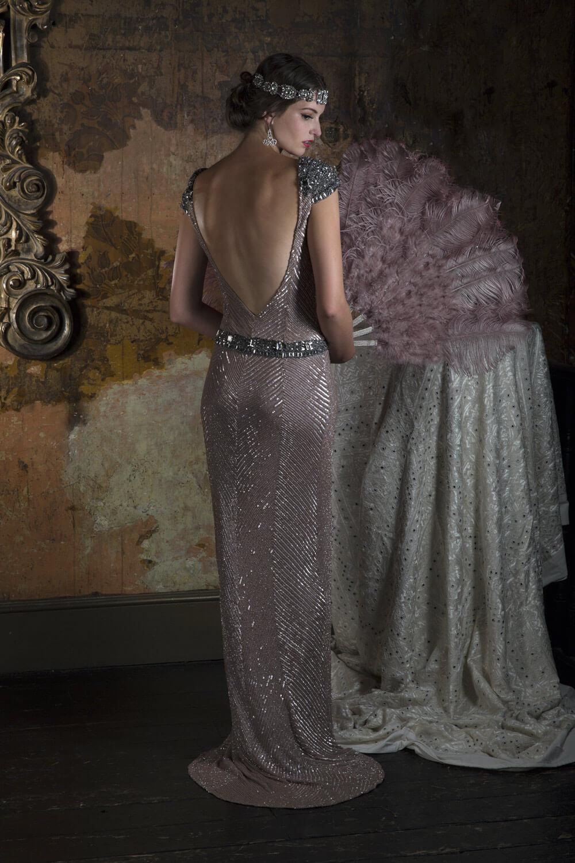 Vintage klänning 1801  687b2336e5017