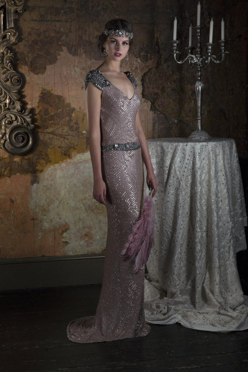 Vintage klänning 1801