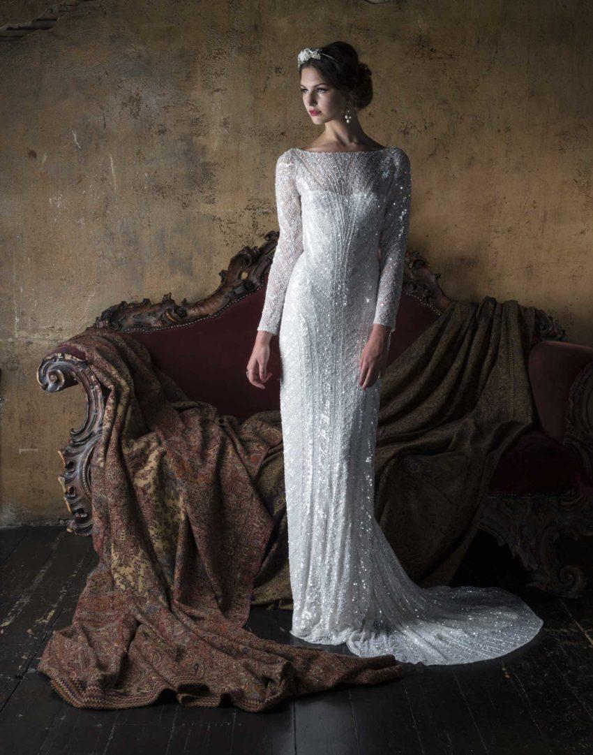 Vintage klänning 1802