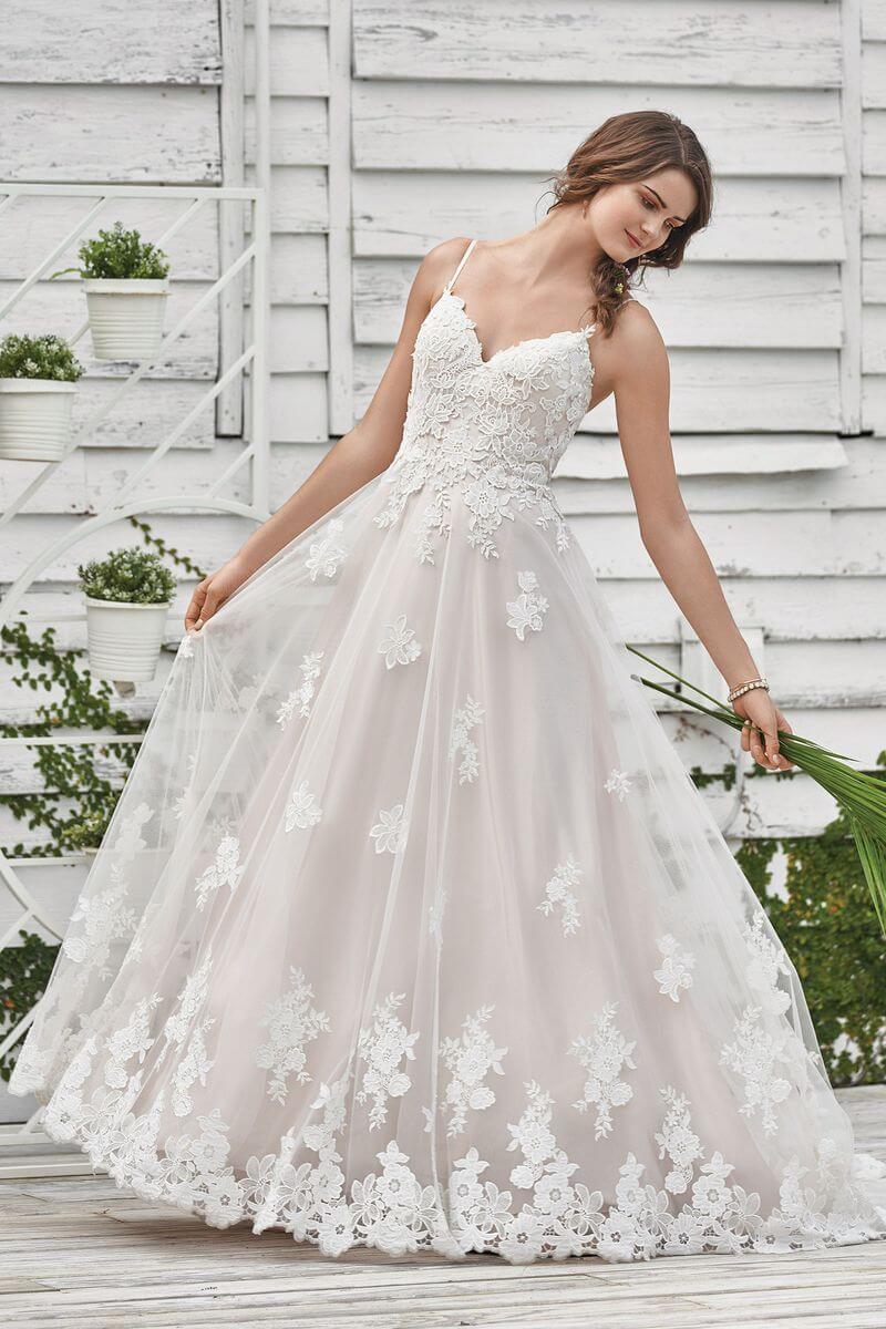 Bohemisk bröllopsklänning B1901