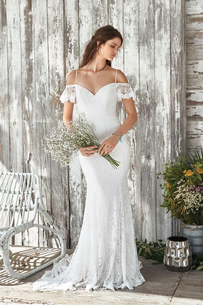 0280358c2a17 Bohemisk bröllopsklänning B1907 Bohemisk bröllopsklänning B1907