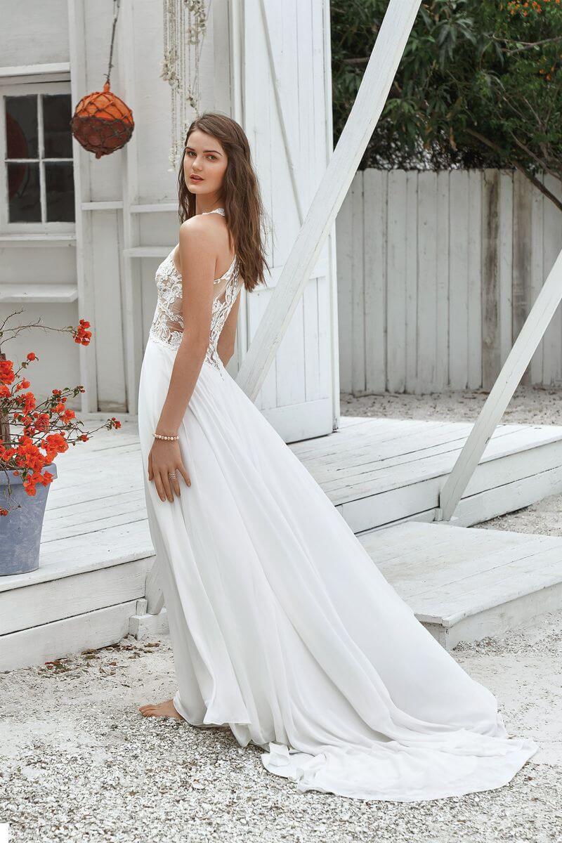 Bohemisk brudklänning från Ramona Design Göteborg