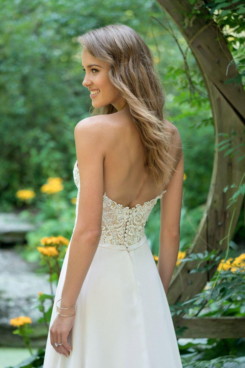 Bohemisk bröllopsklänning B1915
