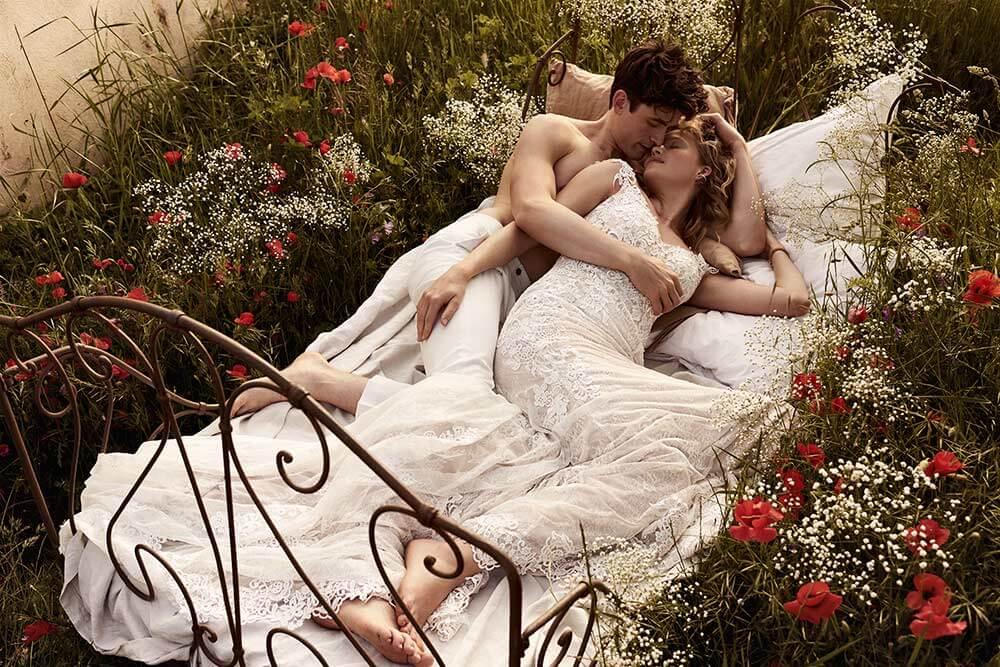 Bohemiska brudklänningar 2019
