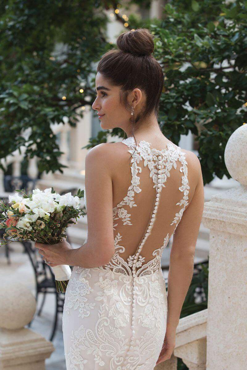 Romantisk brudklänning från Ramona Design Göteborg