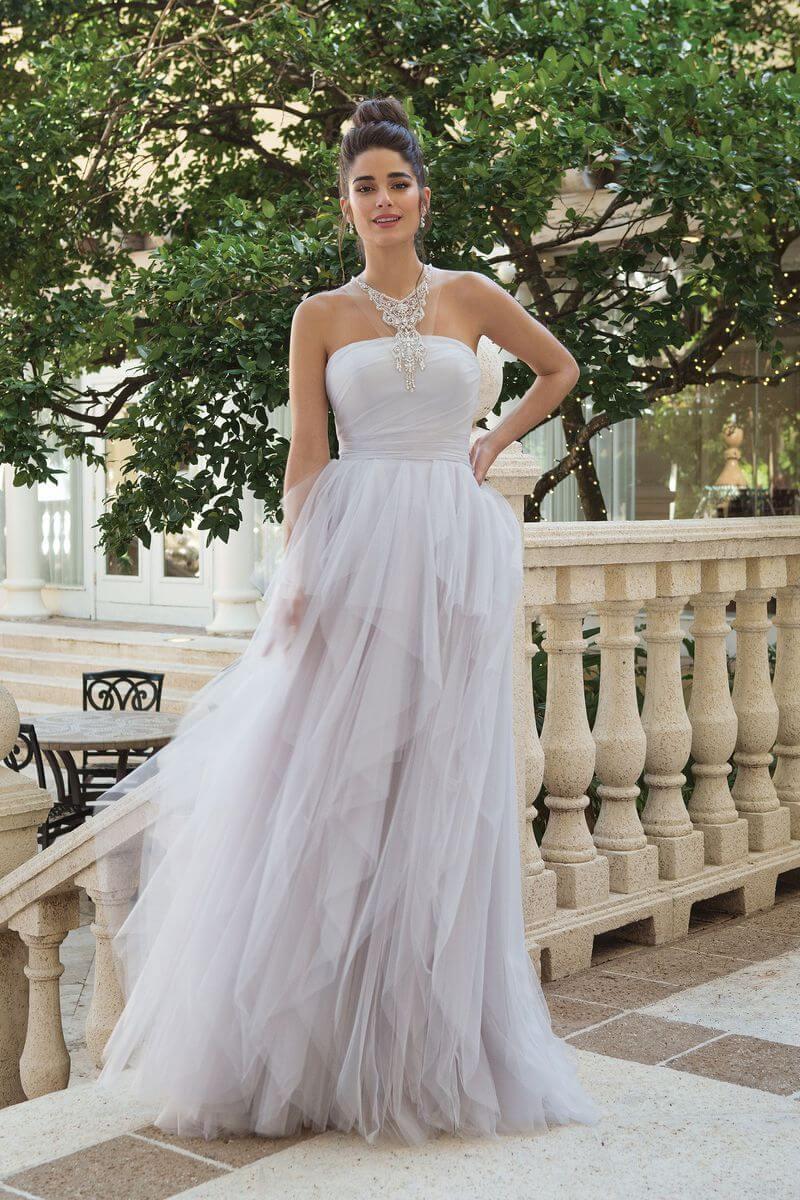 Romantisk bröllopsklänning R1920