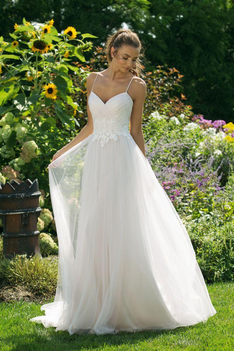 Enkel bröllopsklänning EN1913