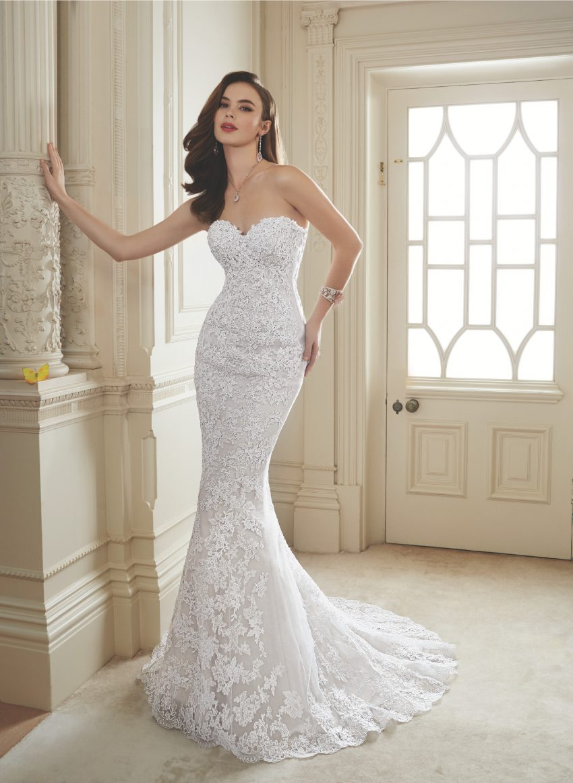 Exklusiv brudklänning EX018