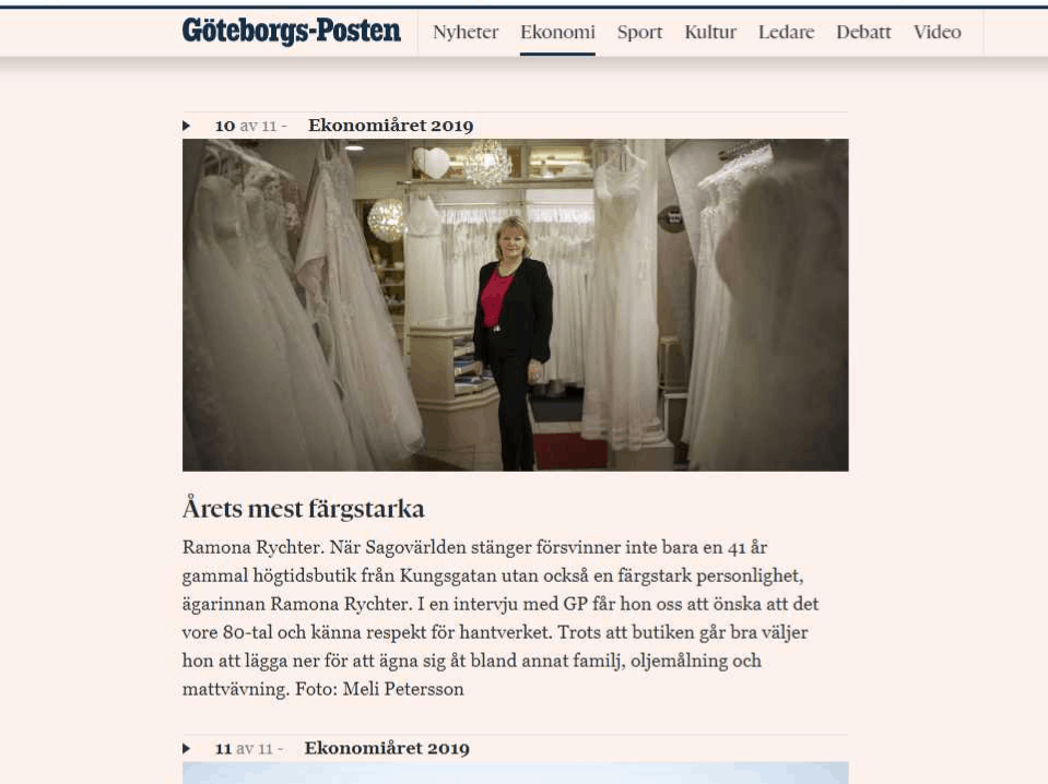 Hur man klär sig korrekt | Ramona Design i Göteborg