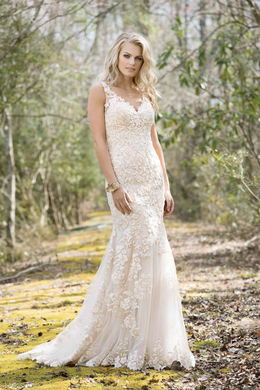 Bohemisk brudklänning B2001
