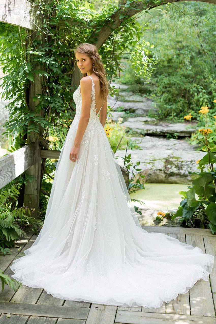 Bohemisk brudklänning B2003