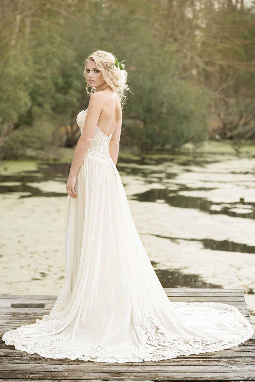 Bohemisk brudklänning B2004