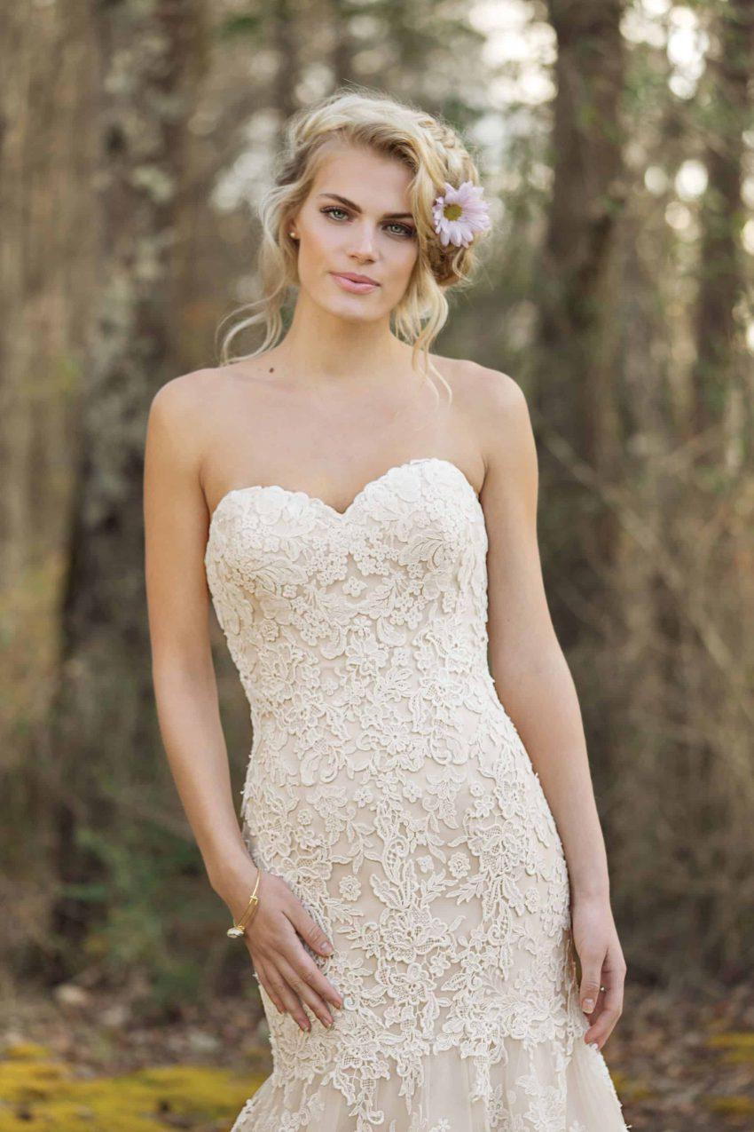 Bohemisk brudklänning B2005