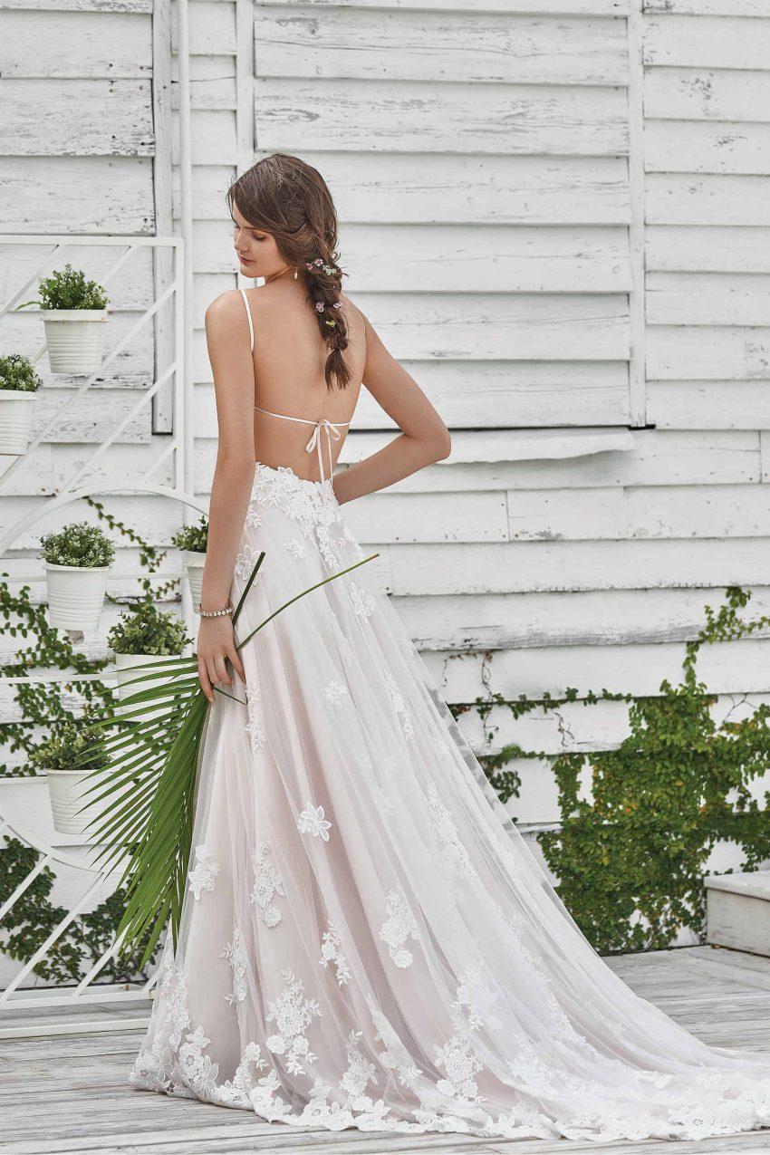 Bohemisk brudklänning B2006