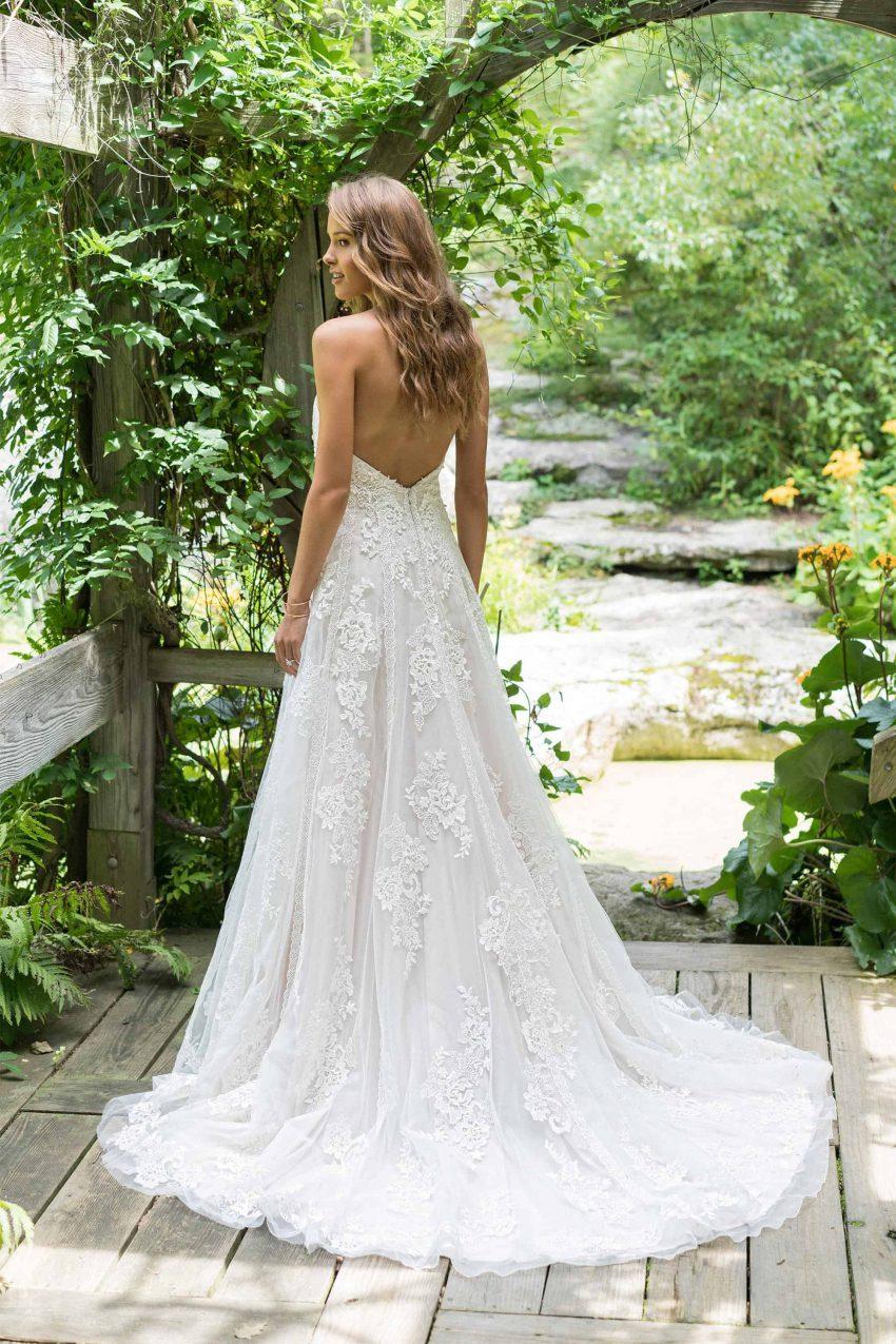 Bohemisk brudklänning B2007