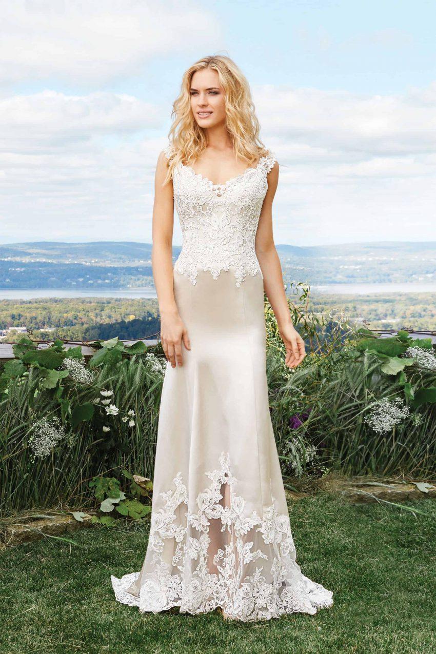 Bohemisk brudklänning B2008