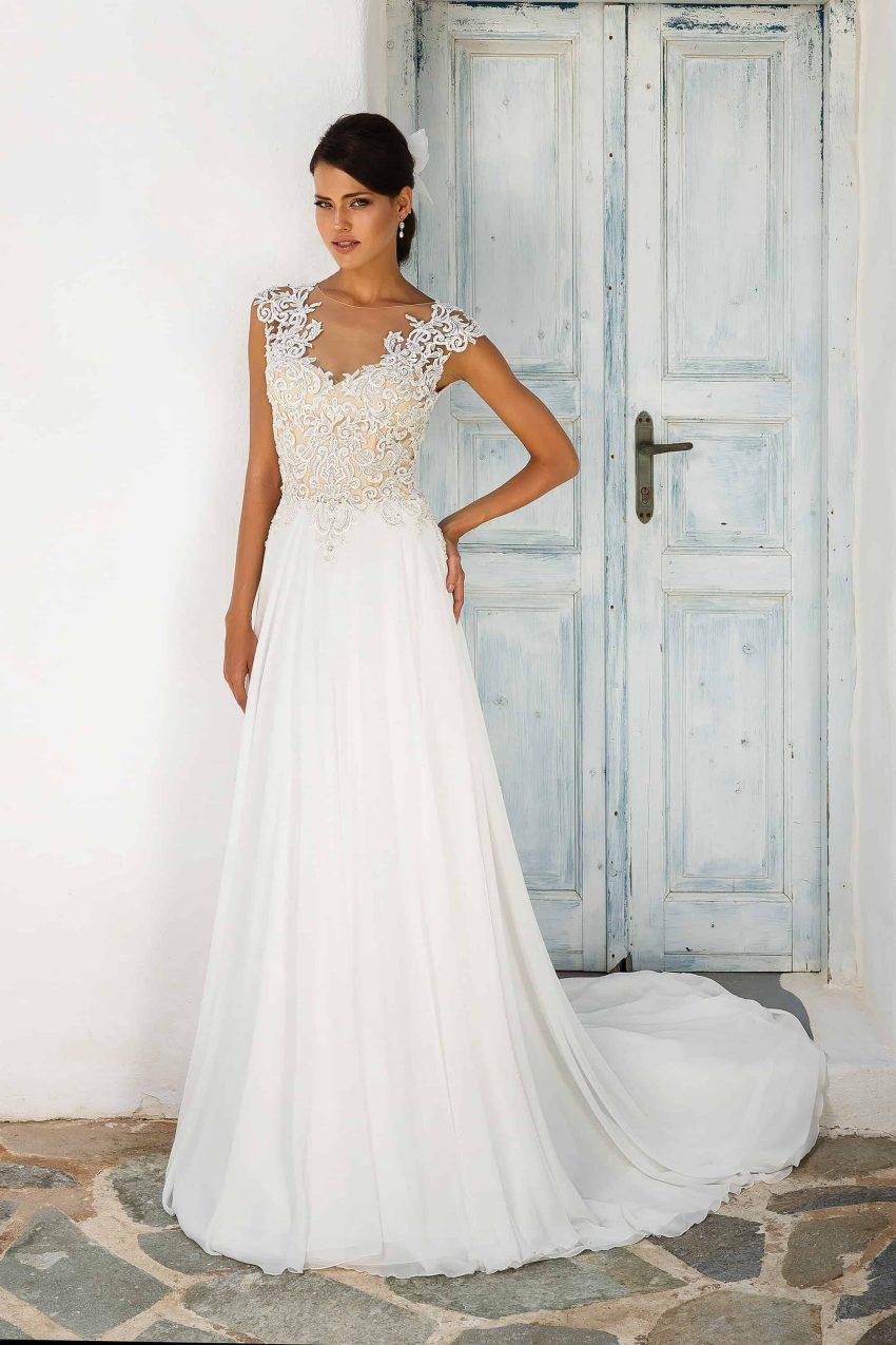 Exklusiv brudklänning EXL 2002