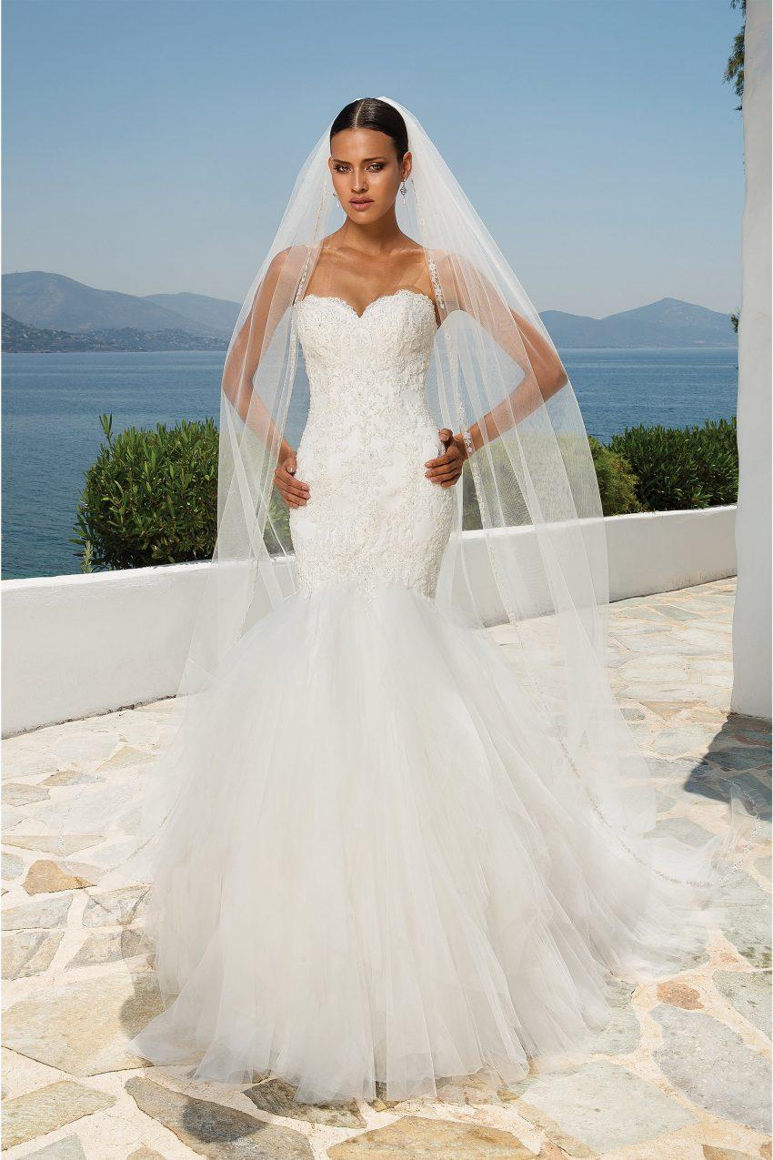 Exklusiv brudklänning EXL 2005