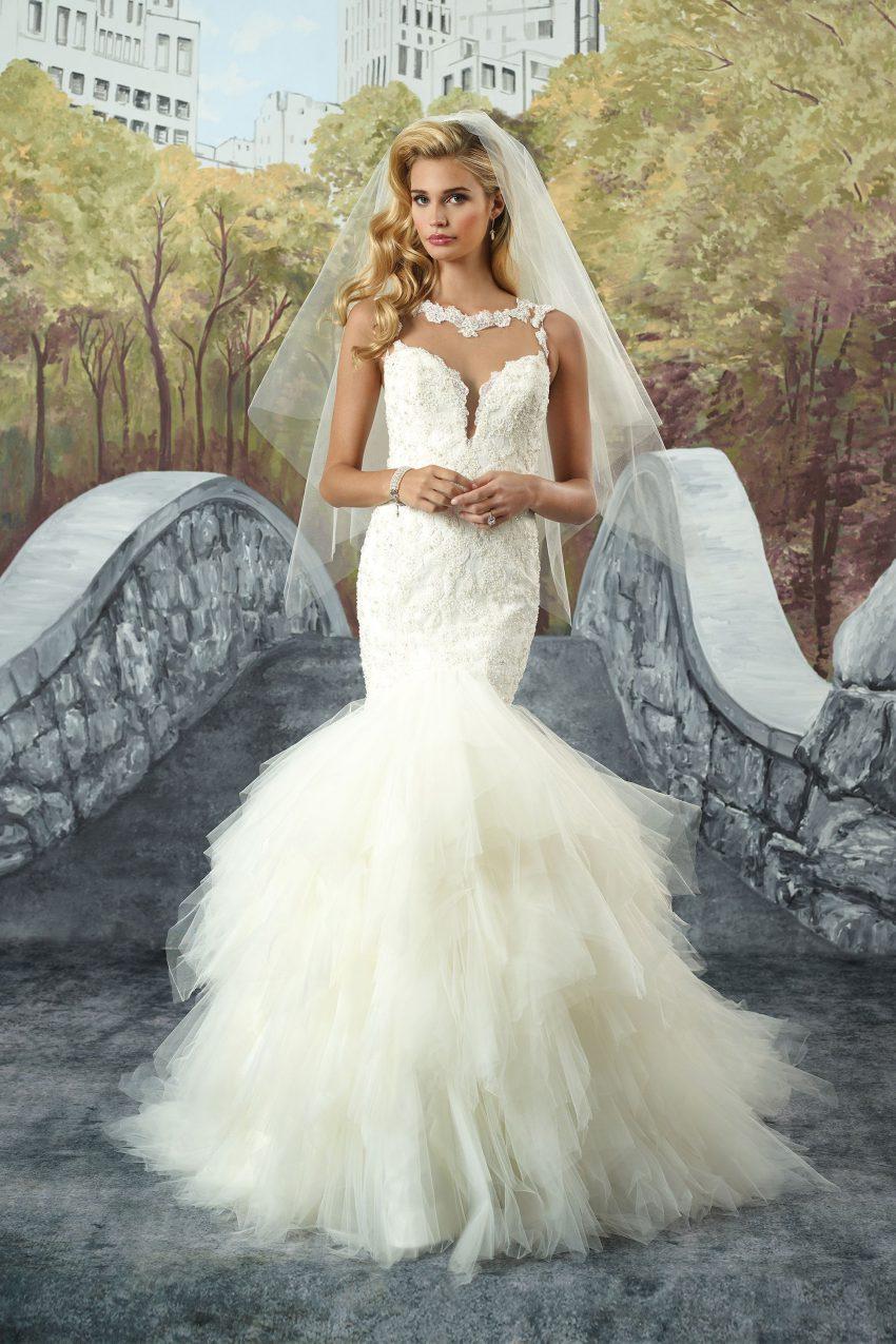 Exklusiv brudklänning EXL 2006