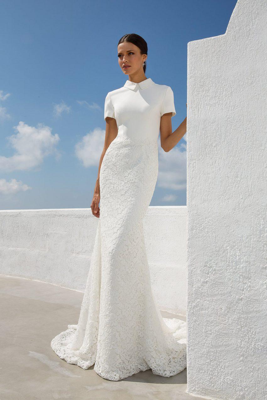 Exklusiv brudklänning EXL 2007