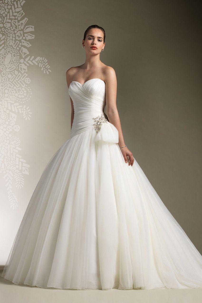 Exklusiv brudklänning EXL 2009