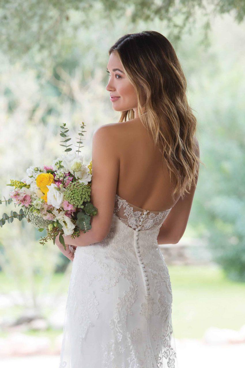 Enkel brudklänning ENKL 2002