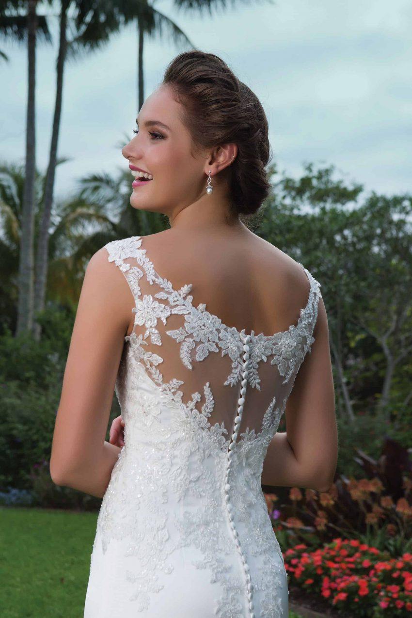 Enkel brudklänning ENKL 2004