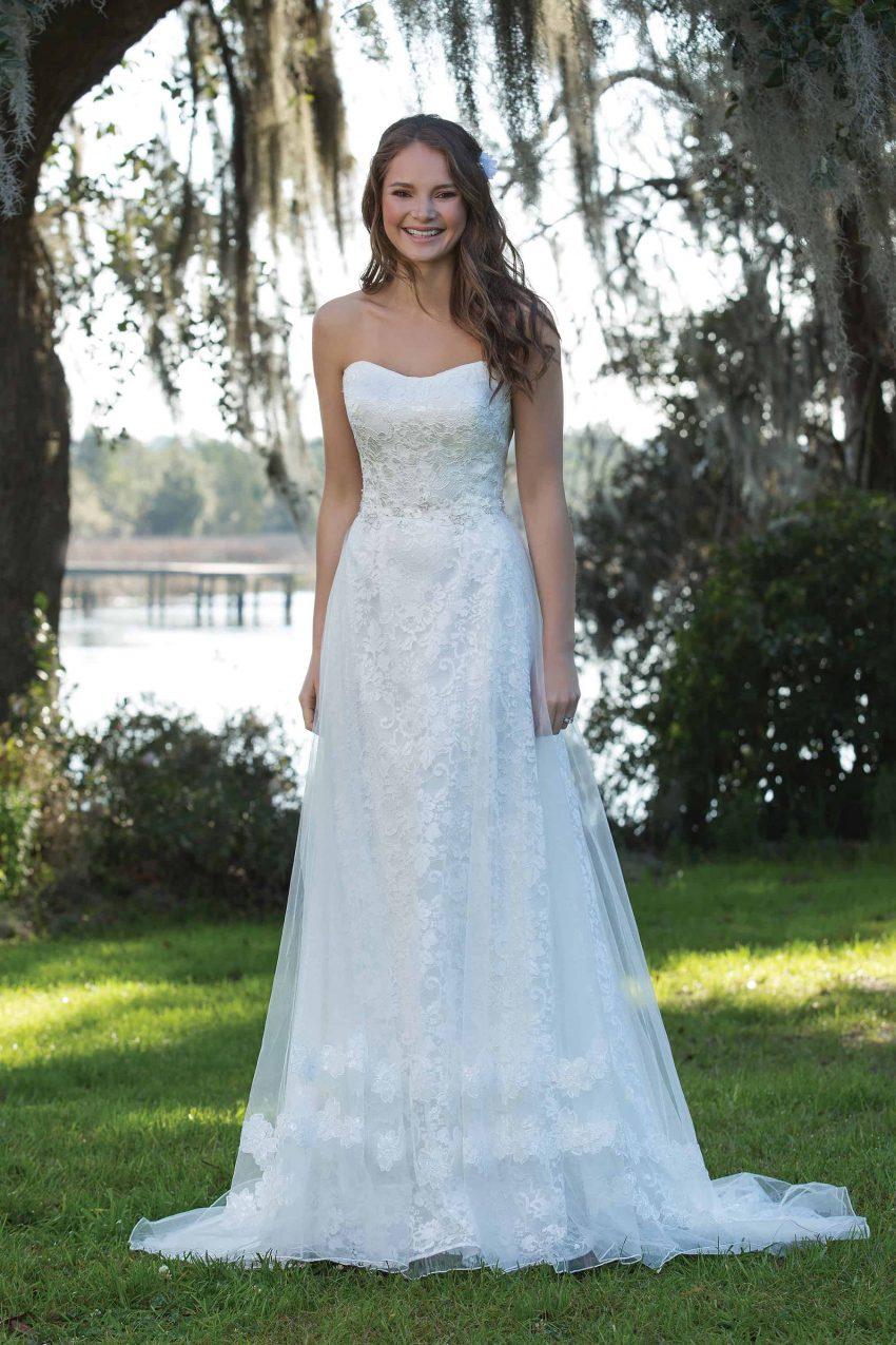 Enkel brudklänning ENKL 2005
