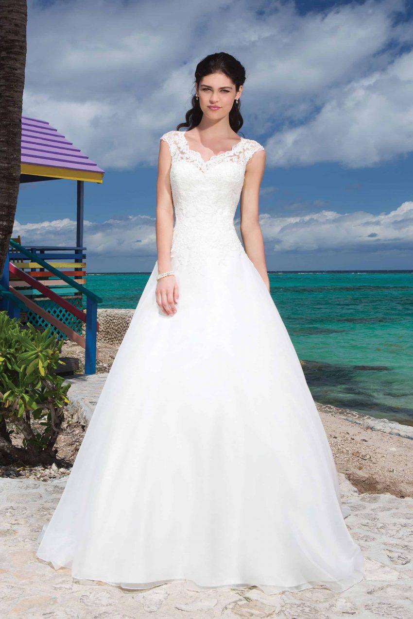 Romantisk brudklänning R2001