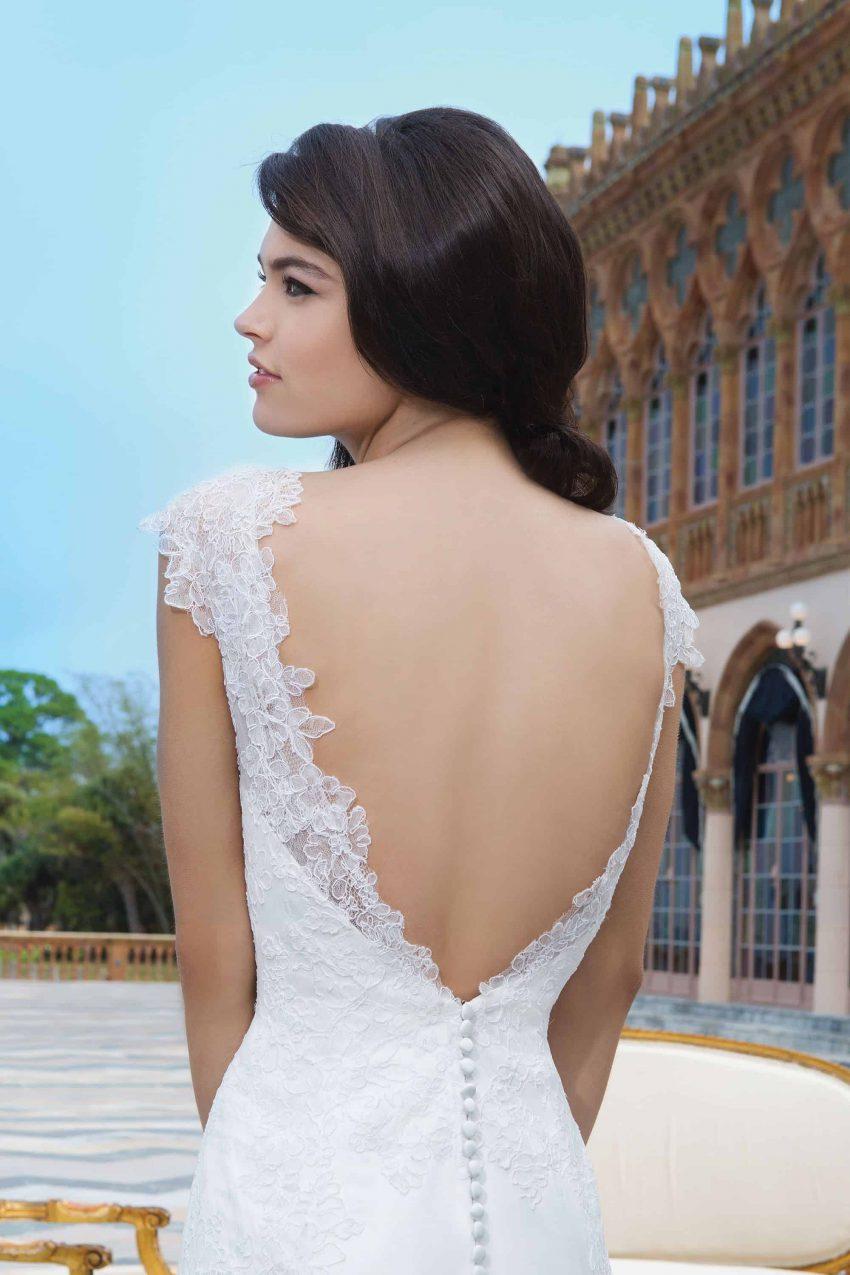Romantisk brudklänning R2002
