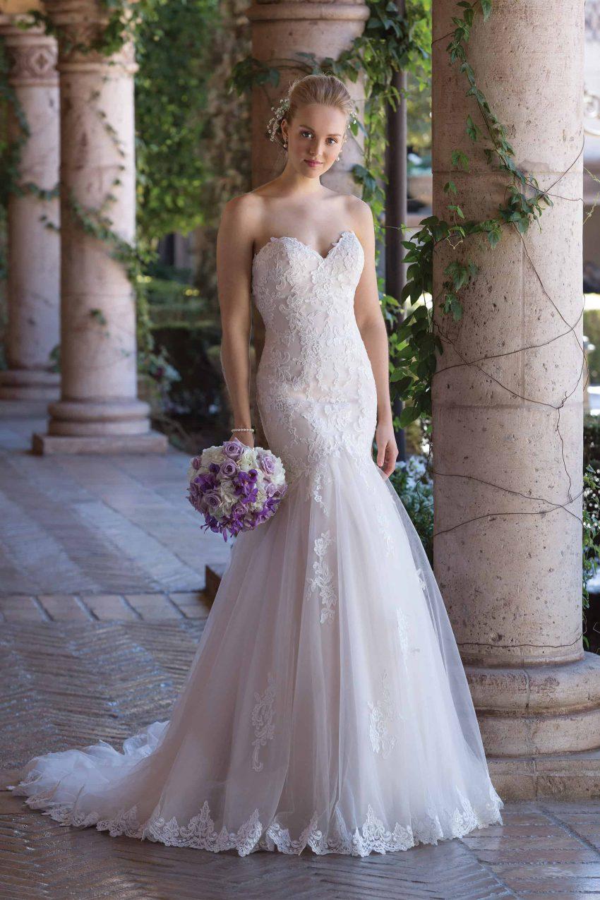 Romantisk brudklänning R2003