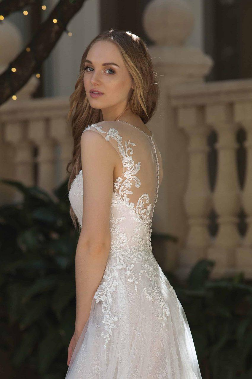 Romantisk brudklänning R2004