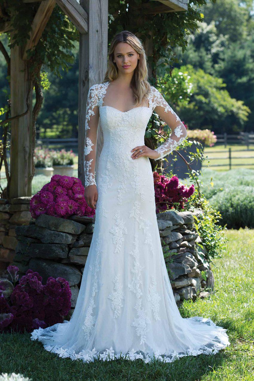 Romantisk brudklänning R2005