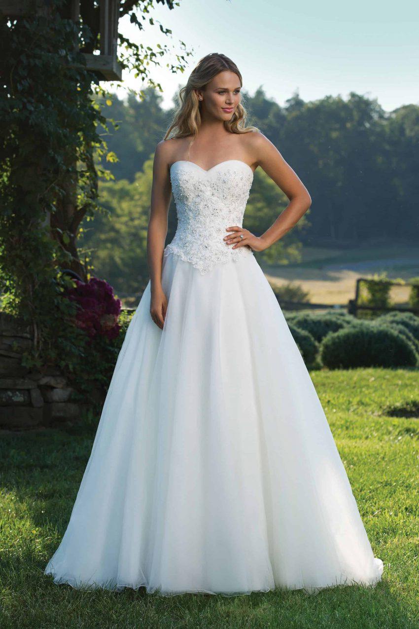 Romantisk brudklänning R2007
