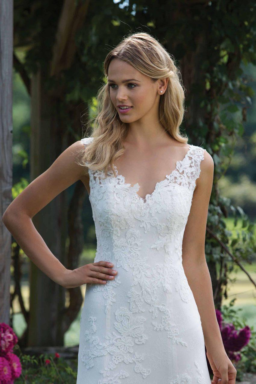 Romantisk brudklänning R2008
